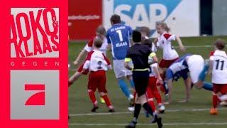 Fußball gegen 33 Kids - Schaffen sie ein Tor? | Spiel 3 | Joko & Klaas gegen ProSieben