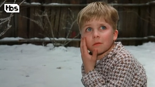 He Nearly Shoots His Eye Out | A Christmas Story | TBS