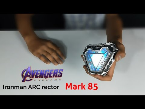 How to build Avengers endgame Iron man ARC reactor Mark 85 with cardboard