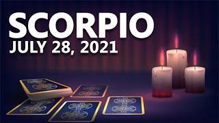 Scorpio - Today Horoscope - July 28, 2021 screenshot 2