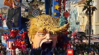 Donald Trump star del Carnevale di Viareggio
