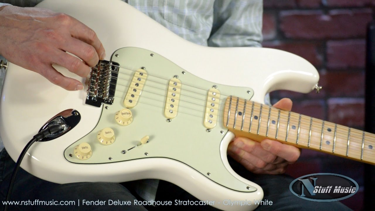 Fender Deluxe Roadhouse Stratocaster on