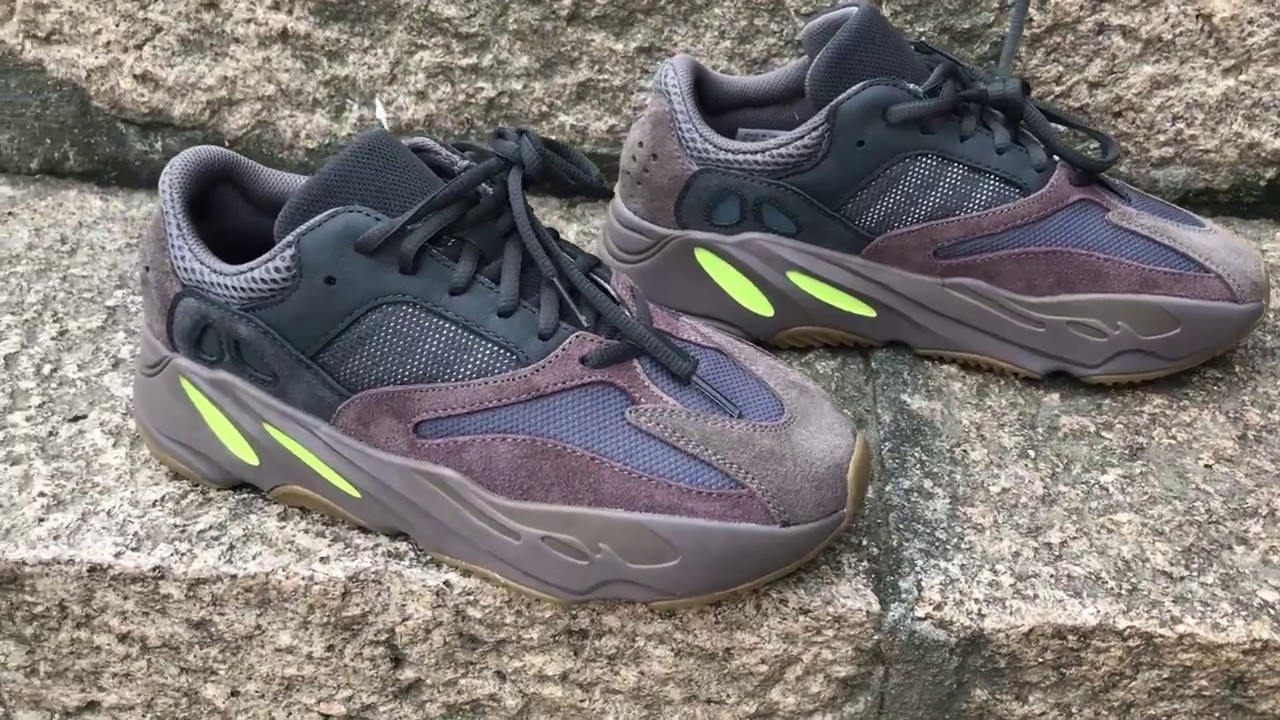 7ef066f9c87013 HOW GOOD IS THE ADIDAS YEEZY BOOST 700 MAUVE ON FEET    - YouTube