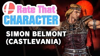 Simon Belmont - Rate That Character
