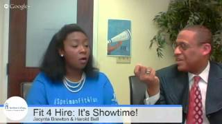Fit 4 Hire: How to Capitalize on the Hire Spelman Career Expo