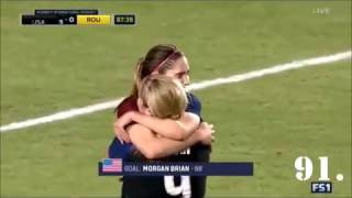 All 92 USWNT goals of 2016