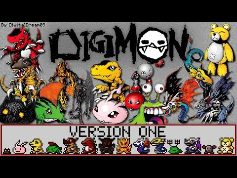Digimon Version One COMPLETE! (All Verison 1 Digimon, Original Digital Monsters v-Pet 1997)