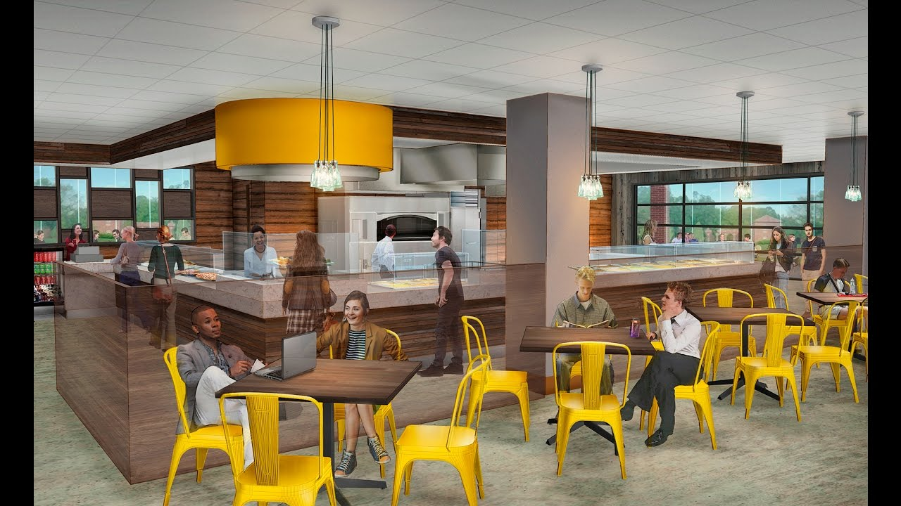 Kennedy Union Dining Renovation. University Of Dayton Part 97