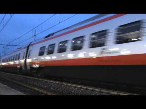 0701 🇮🇹 Padova 🚆 Trenitalia/FS ETR 610, FA 9434: Venezia (Santa Lucia) ➙ Roma (Termini)