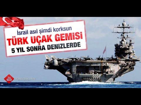 Türkiye'nin ilk yerli üretim uçak gemisi