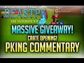BRAND NEW RSPS - BEASTPK - HUGE GIVEAWAY/CRATE OPENING AND PKING COMMENTARY!