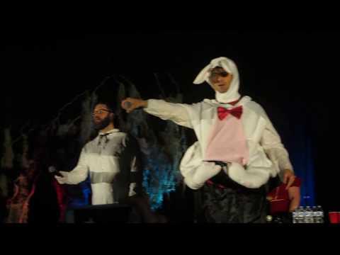 Emily Swallow singing Wrecking Ball Supernatural Karaoke Night SPN NJCON 2017