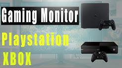 Top 3: Bester Gaming Monitor für Ps4 und Xbox! Gaming Bildschirm für Konsole kaufen?