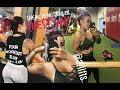 GIRLS THAT BENCH   Chest Day Gym Vlog Sneak Preview