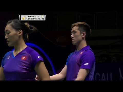 Macau Open 2016 | Badminton F M1-XD | Zhang/Li vs Tang/Tse