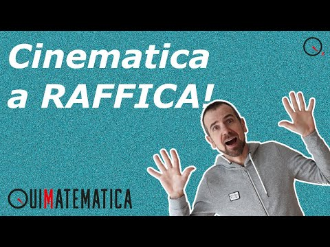 Cinematica: quiz a RAFFICA