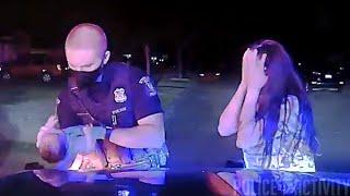 Michigan Police Officer Saves Choking Baby