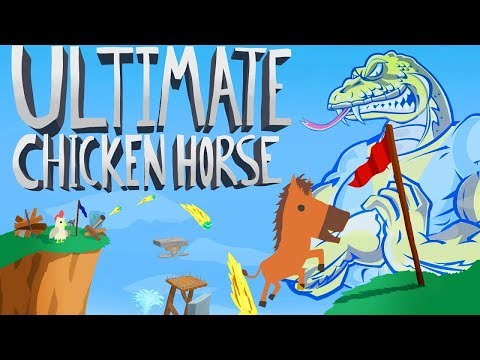 Ruining Our Friendships for YOUR Entertainment | Ultimate Chicken Horse | Multiplayer Party Co-op