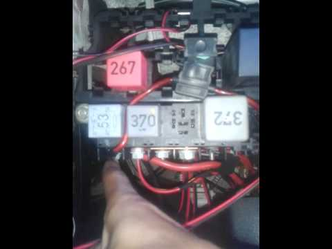 Audi A4 B5 Ac Fan Problem Youtube