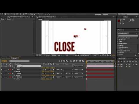 how to add a camera in after effects