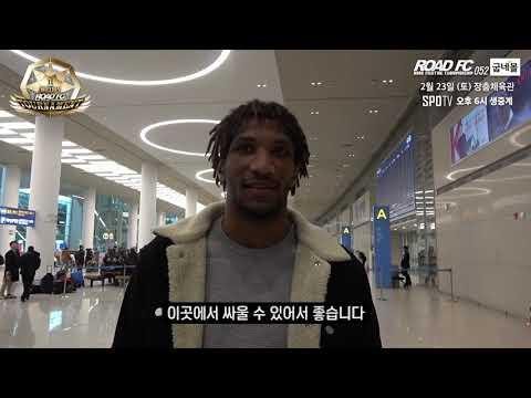 """만수르 바르나위 """"권아솔! 널 무너뜨릴 거야"""" Mansour Barnaoui Arrived in South Korea"""
