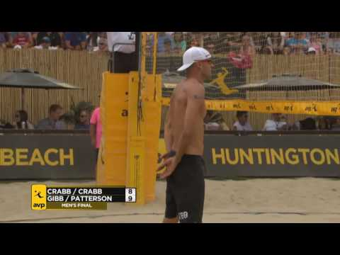 AVP Huntington Beach Open 2016 Men's Finals: Gibb/Patterson Vs Crabb/Crabb