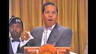 Min Louis Farrakhan   The Wheel and the Last Days   7-13-86