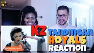 kz tandingan sings royals lorde reaction