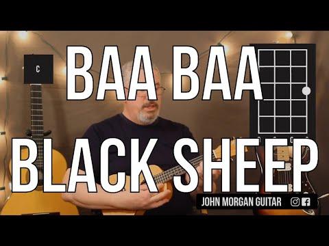 kid-favorites:-baa-baa-black-sheep-(uke)