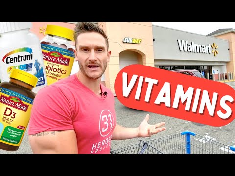 Vitamins & Minerals at Walmart - What to Get and AVOID