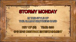 Bobby Bland - Stormy Monday Blues (Backing Track)