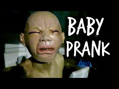 BABY PRANK ON ROOMMATE