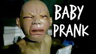 BABY PRANK ON ROOMMATE