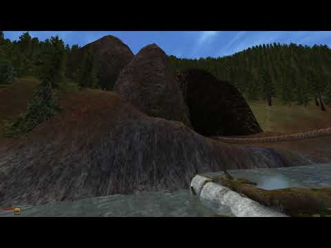 Melchior Dahrk's better waterfalls + animated MW + dongle's water pack + vurt's trees
