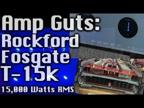 Amp Guts Rockford Fosgate T15k Cracked Open Manual Guide