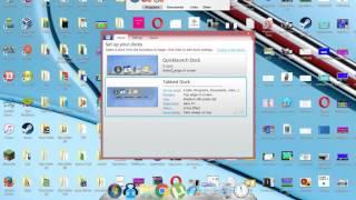 How To Get Mac OSX Style Dock On Windows 8/7/Vista