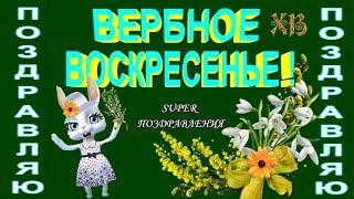 Вербное Воскресенье дарит всем благословенье в вербное воскресенье поздравление youtube