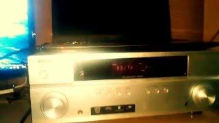 PIONEER-VSX 420 130 вт колонки eltax 130 вт в стерео режимі без саба