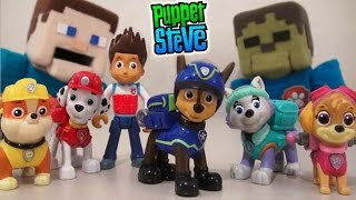 PAW Patrol Action Pack Rescue Team Walmart Exclusive Spin Master toy unboxing