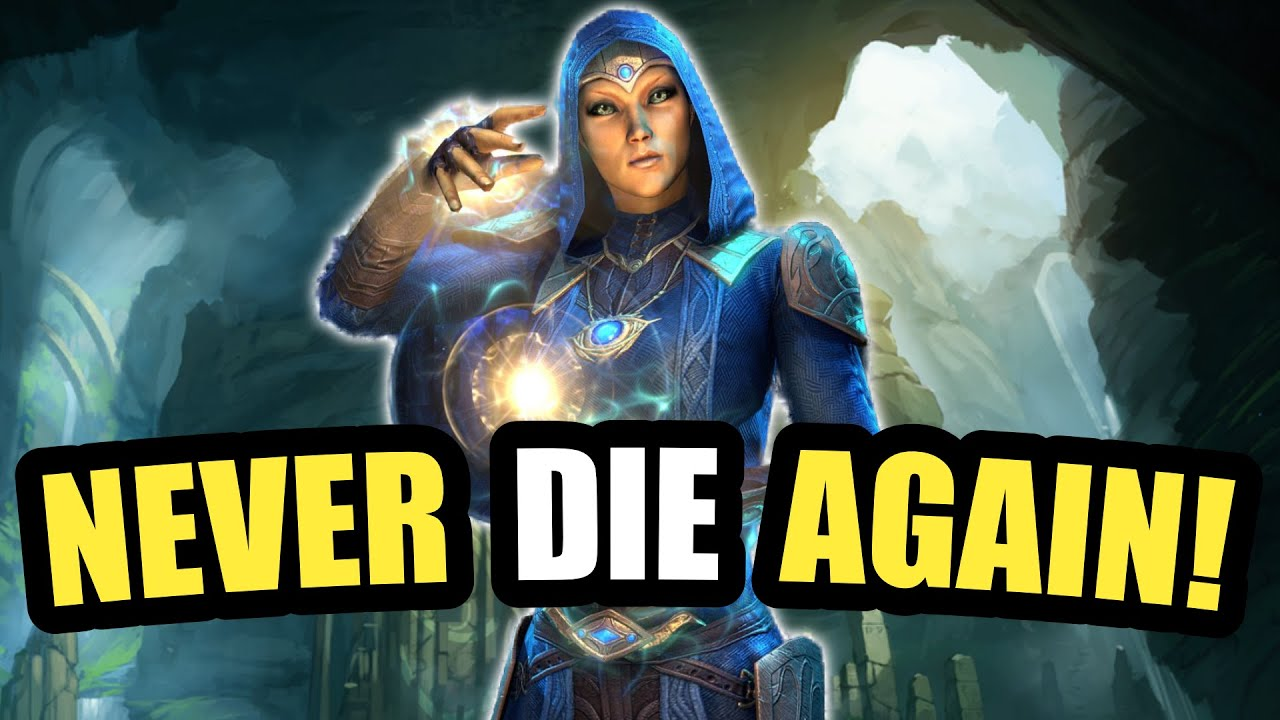 NEVER DIE AGAIN! Use This EASY Solo Magicka Templar Build - NOVA SHIELD - ESO Blackwood Update!