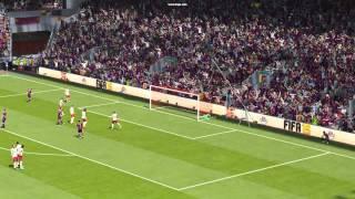 Freekick in Fifa 15 Demo for PC