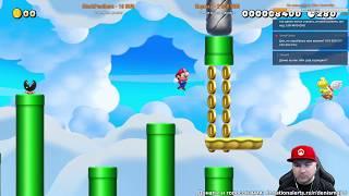 Super Mario Maker 2 вместе с Denis Major (+результаты розыгрыша)