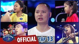 vietnam idol kids 2017 - tap 13 - teaser top 4 tap luyen hang say voi chu nguyen hai phong