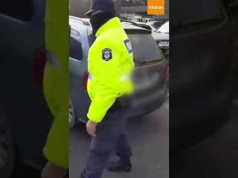 Detuvieron a una pareja que llevaba a sus hijos de 12 y 13 años escondidos en el baúl del auto