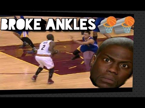 NBA Crossovers & Ankle Breaks