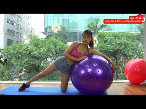 Hướng dẫn tập toàn thân hiệu quả với bóng tập Yoga - META.vn