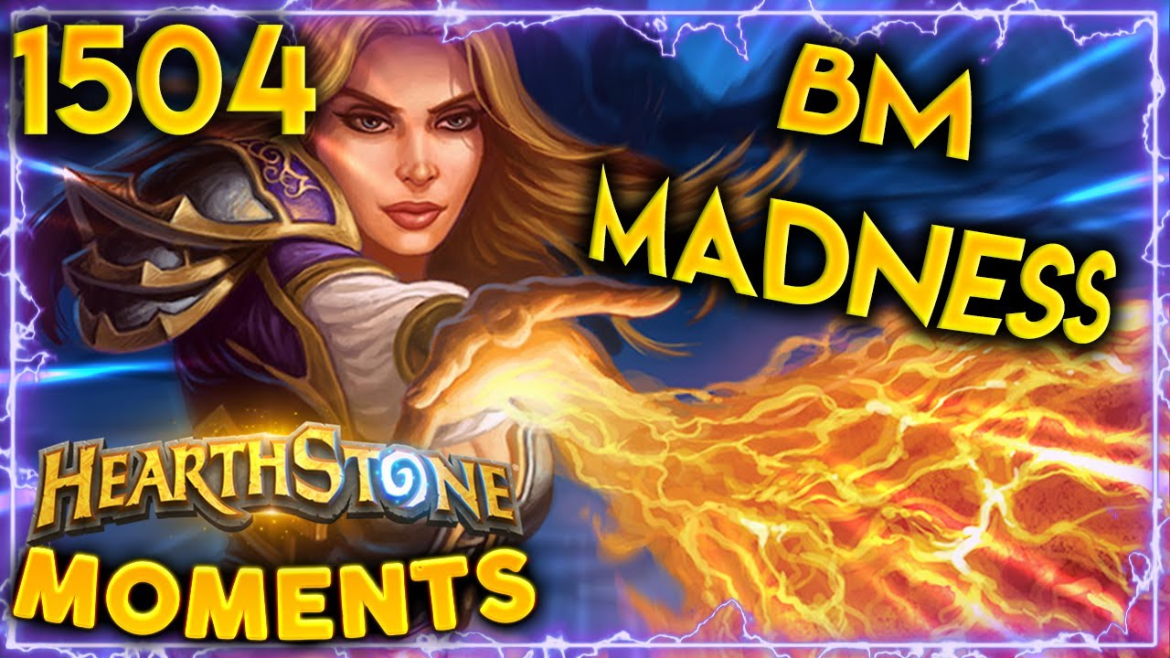 TOO MUCH BM Is NOT Always A Good Thing | Hearthstone Daily Moments Ep.1504 thumbnail