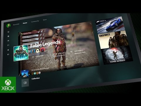 Microsoft Is Totally Redesigning The Xbox One User Interface