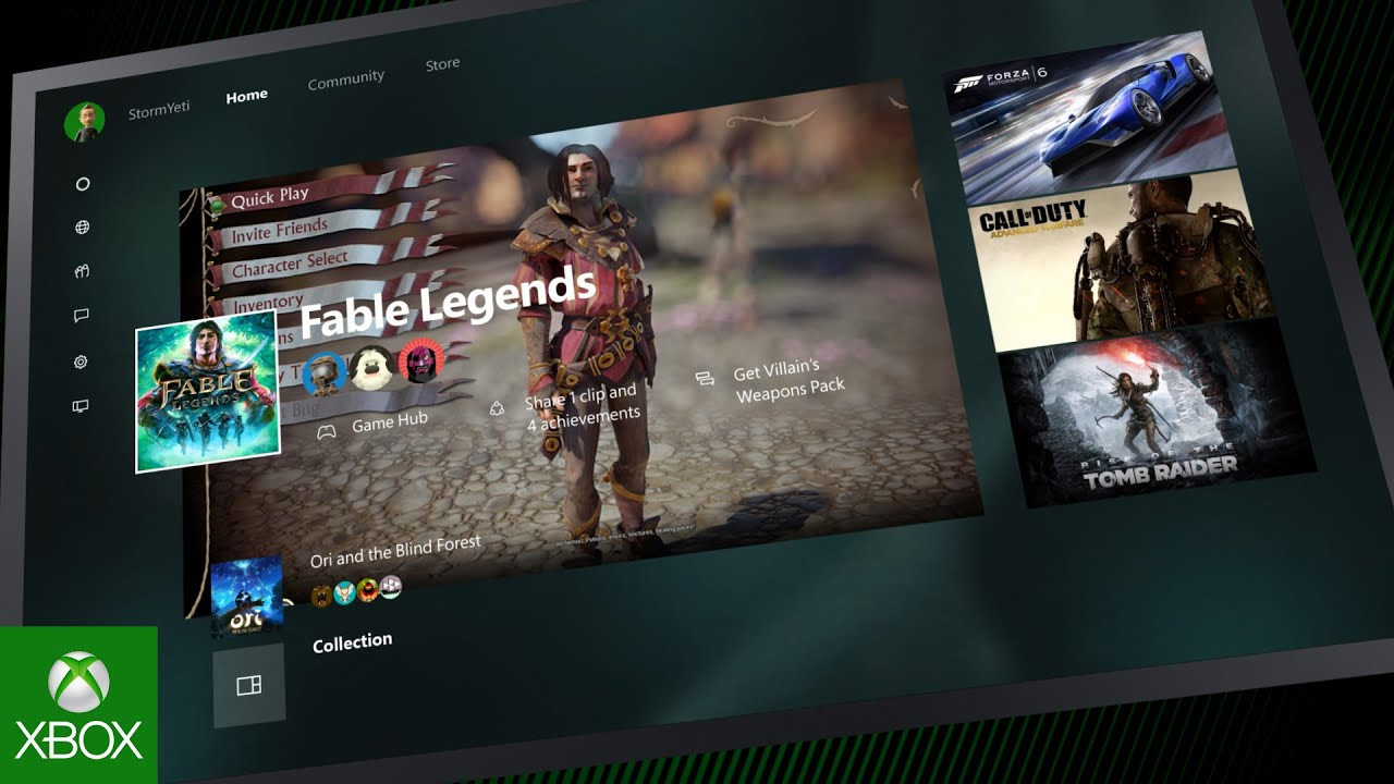 New Xbox One Experience YouTube