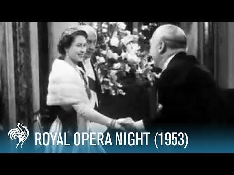 Royal Opera Night: 'Gloriana' Premiere (1953) | British Pathé